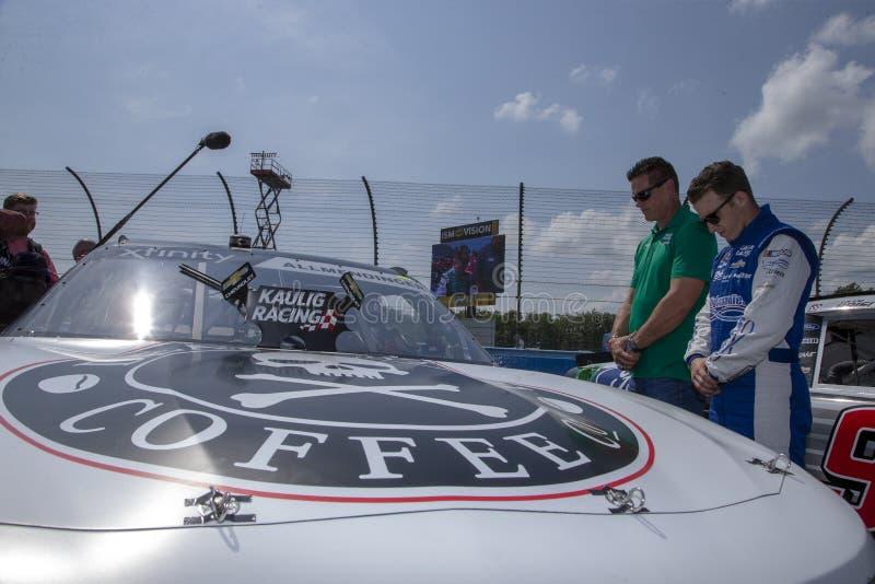 NASCAR: Augusti 03 Zippo 200 royaltyfri bild