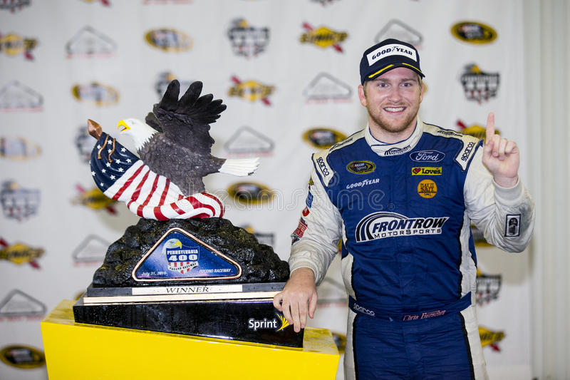 NASCAR: 01 augustus Pennsylvania 400 stock afbeelding