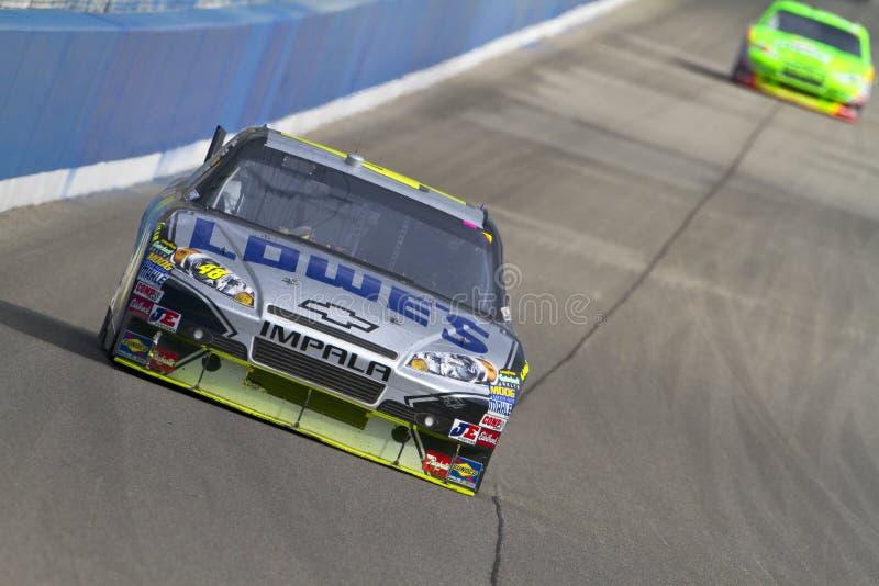 NASCAR: Auto clube 500 fevereiro de 21 imagem de stock royalty free