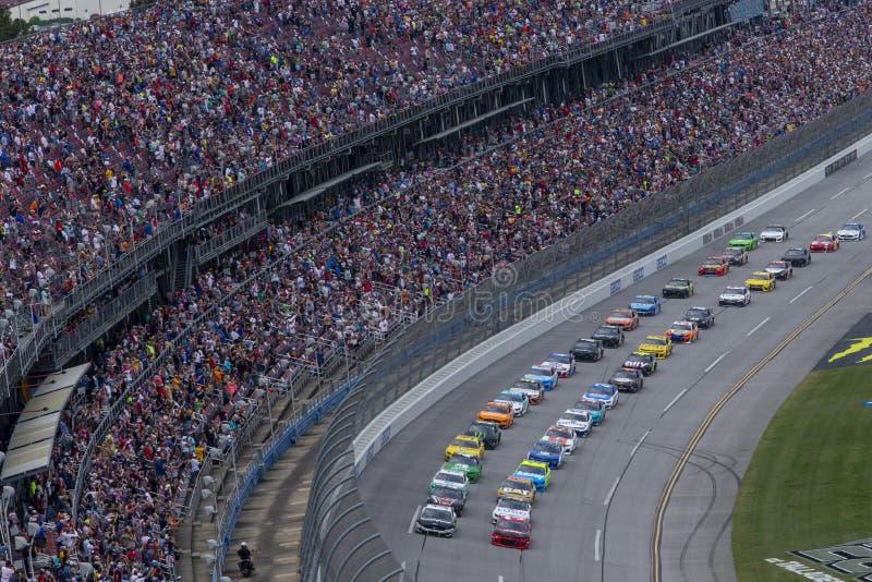 NASCAR : 28 avril GEICO 500 photo stock