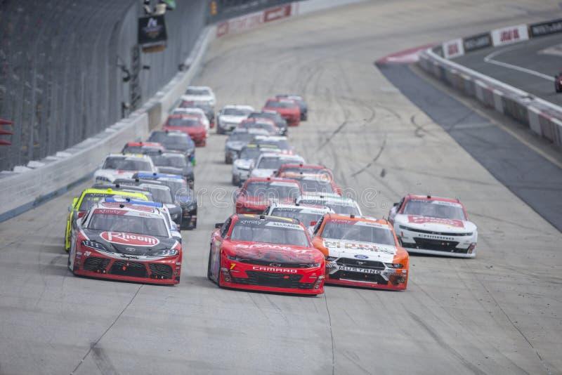 NASCAR : B?timents en acier alli?s 200 du 4 mai images stock