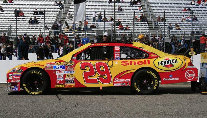 NASCAR - BERÇO de Kevin Harvick fotos de stock royalty free
