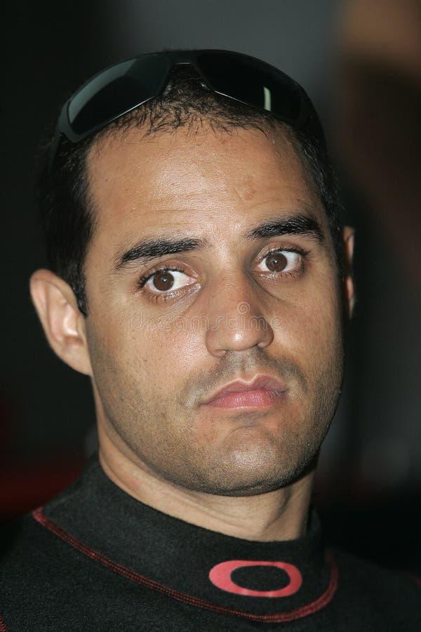 NASCAR bestuurder Juan Pablo Montoya royalty-vrije stock fotografie