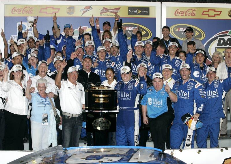 NASCAR bestuurder Ryan Newman stock foto