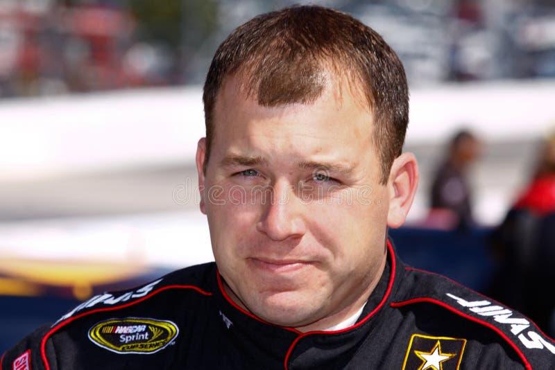 NASCAR Bestuurder Ryan Newman royalty-vrije stock foto
