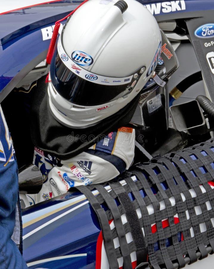 NASCAR Brad Keselowski photo libre de droits