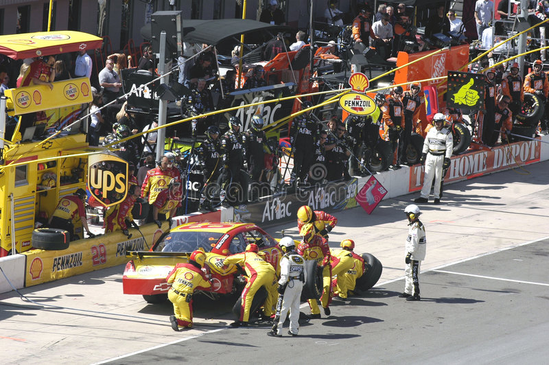 NASCAR a Bristol fotografia stock