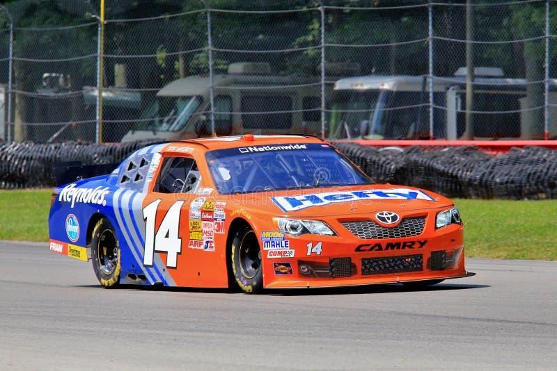 NASCAR Car Driver Jeff Green. Drives the Hefty/Reynolds Toyota powered race car royalty free stock photography