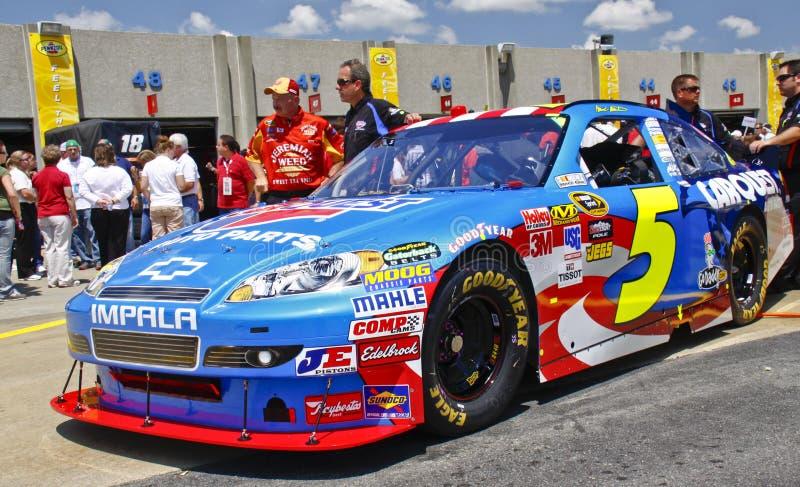 NASCAR - Carro de #5 Carquest de Martin fotografia de stock royalty free