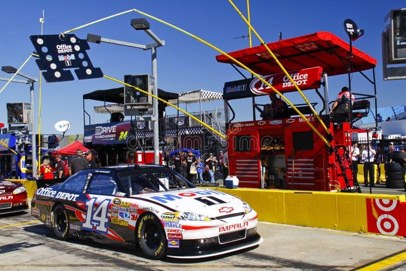 NASCAR - Casella del pozzo dello Stewart immagine stock libera da diritti