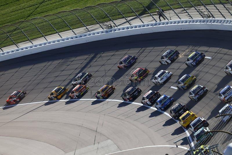NASCAR : Casino 400 de Hollywood du 22 octobre photos stock