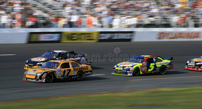 NASCAR - Catturilo se potete! immagine stock libera da diritti