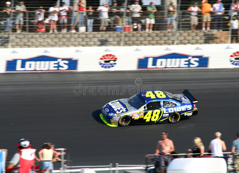 Download NASCAR Champ #48 Johnson At The 600 Editorial Photo - Image of jimmie, focus: 6396056
