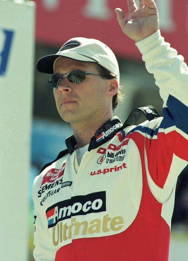 NASCAR-chaufför Dave Blaney arkivbild