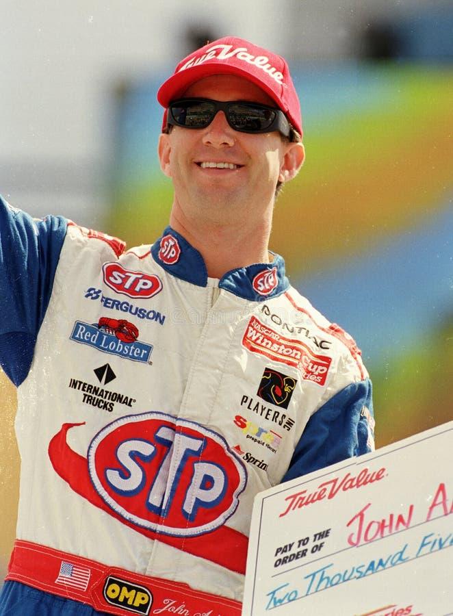NASCAR-chaufför John Andretti arkivfoto