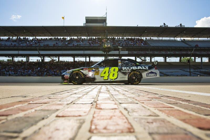 NASCAR: Chevrolet Allstate 400 de Lowe imagem de stock