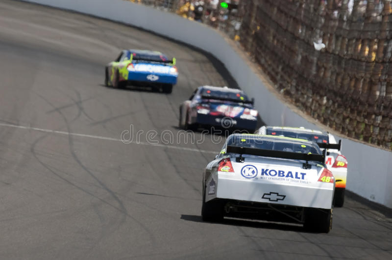 NASCAR: Chevrolet Allstate 400 van Lowe royalty-vrije stock foto