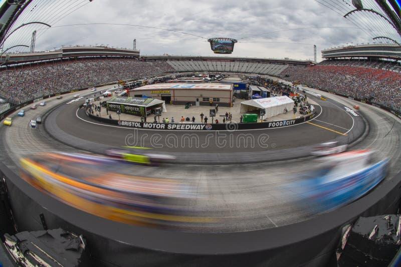 NASCAR: Cidade 500 do alimento do 7 de abril imagem de stock