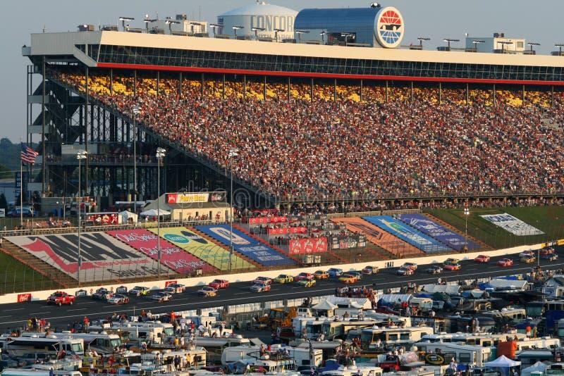 NASCAR - coca-cola 2008 600 imagem de stock royalty free