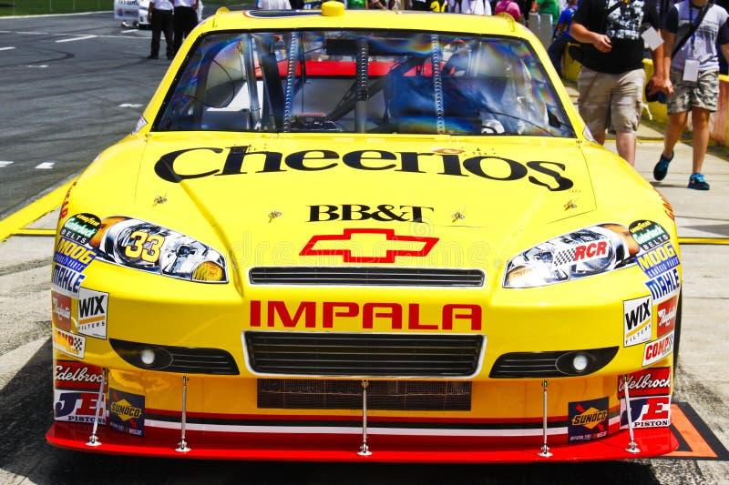 NASCAR - coca-cola 2010 600 - #33 Cheerios Chevy images libres de droits