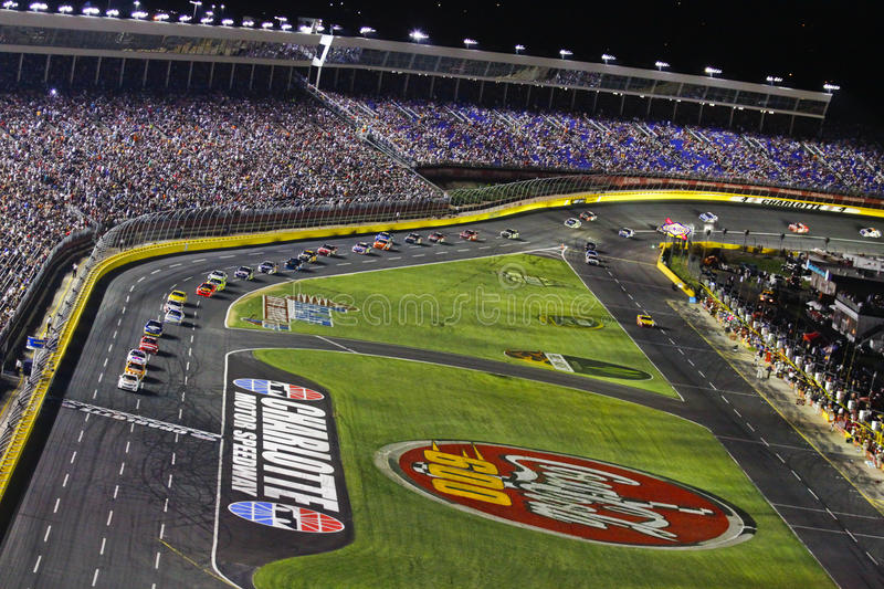 NASCAR - Coca Cola 600 at Charlotte Motor Speedway stock image