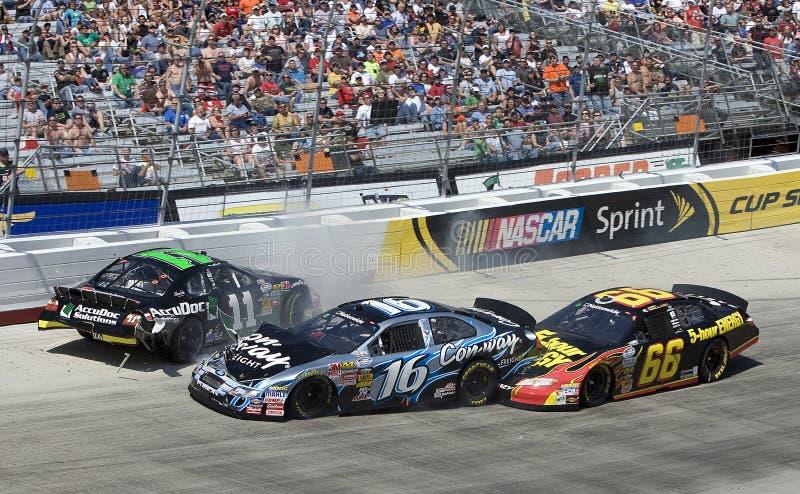 NASCAR: Construtor 300 do relvado de março 20 Scotts fotografia de stock royalty free