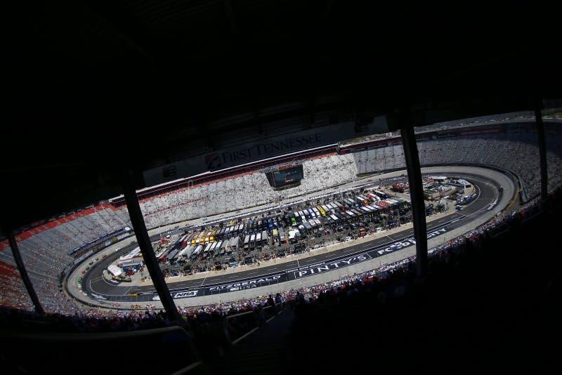 NASCAR: Corredi 300 dell'aliante di Fitzgerald del 14 aprile immagini stock