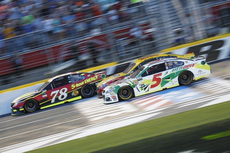 NASCAR: Corsa con attori famosi di energia NASCAR del mostro del 20 maggio fotografie stock