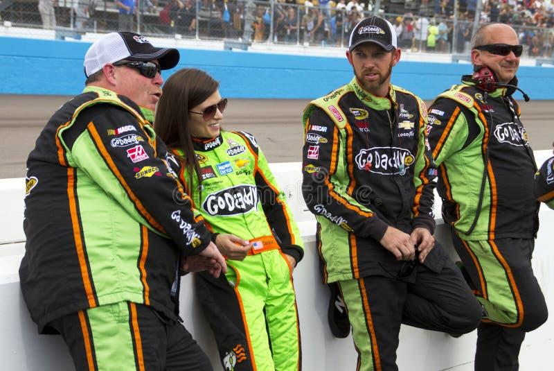 NASCAR Danica Πάτρικ διεθνές Raceway του Phoenix στοκ φωτογραφίες με δικαίωμα ελεύθερης χρήσης