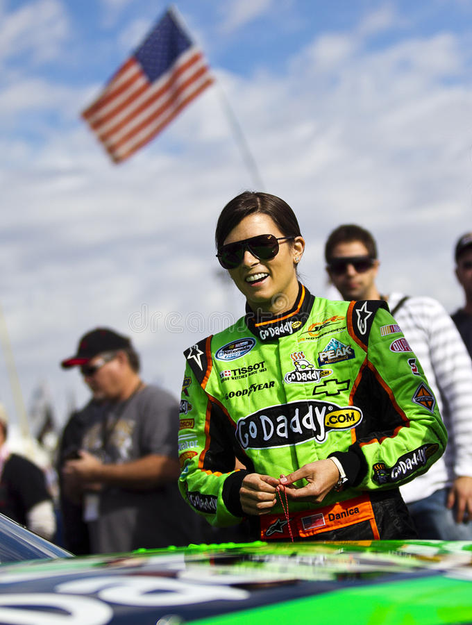 NASCAR: Danica Patrick stock photos