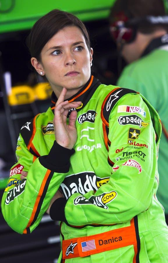 NASCAR: Danica Patrick imagen de archivo