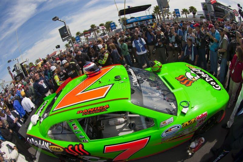 NASCAR: Danica Patrick stock image