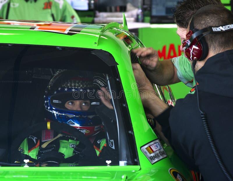 NASCAR Danica Patrick imagen de archivo