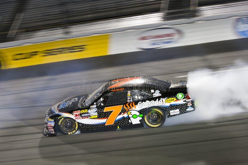 NASCAR: Danica Patrick Wracke stockfotografie
