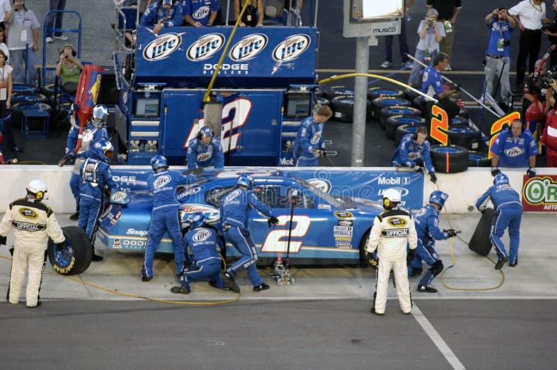 NASCAR at Darlington. stock photo
