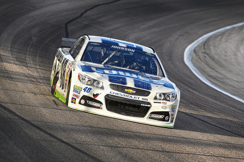 NASCAR:  4 de abril Duck Commander 500 imagem de stock royalty free