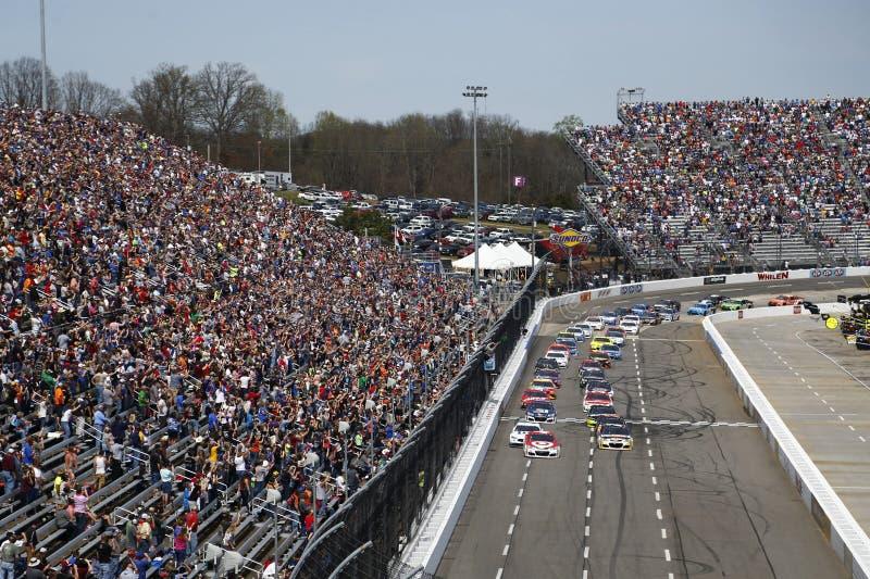 NASCAR: 2 de abril STP 500 imagens de stock