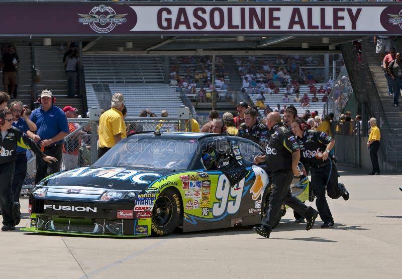 NASCAR: De Doorwaadbare plaats Allstate 400 van Aflac bij Brickyard stock afbeeldingen