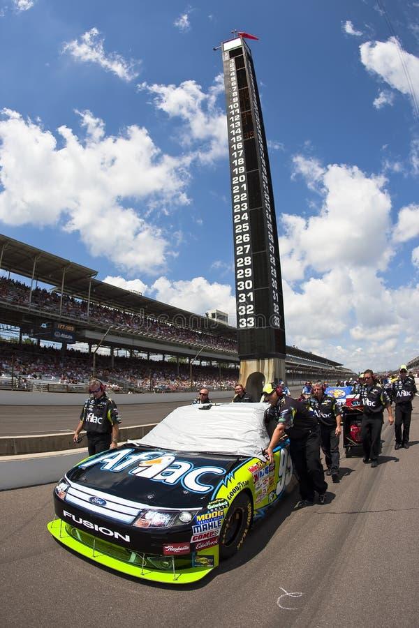NASCAR: De Doorwaadbare plaats Allstate 400 van Aflac bij Brickyard royalty-vrije stock afbeelding