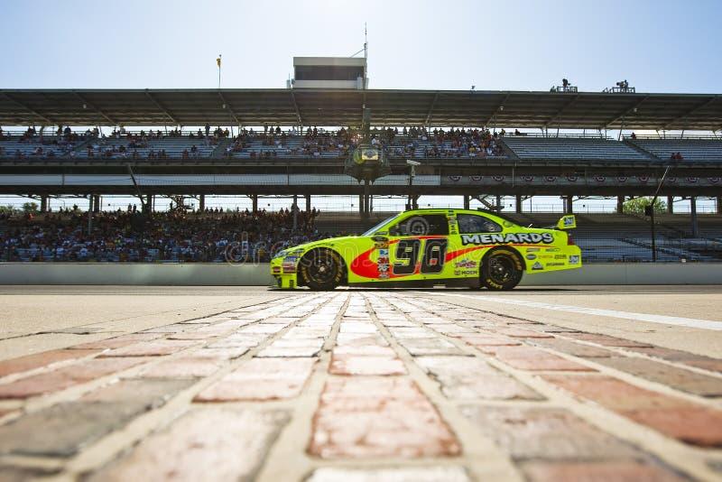 NASCAR: De Doorwaadbare plaats Allstate 400 van Menard royalty-vrije stock fotografie