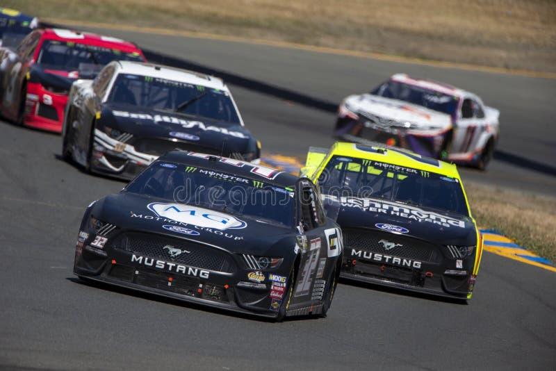 NASCAR: 23 de junho Toyota/mercado 350 das economias imagem de stock royalty free
