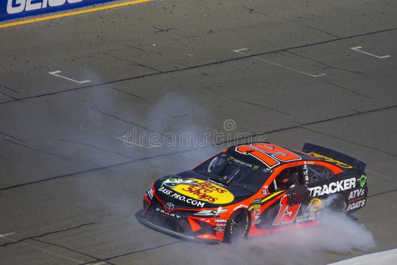 NASCAR: 23 de junho Toyota/mercado 350 das economias foto de stock royalty free