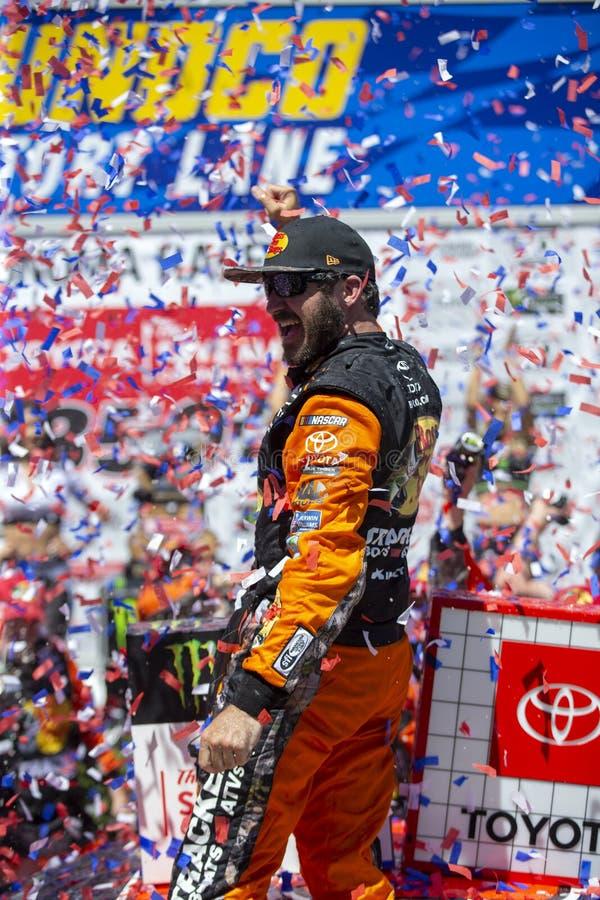 NASCAR: 23 de junho Toyota/mercado 350 das economias imagens de stock
