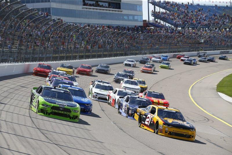 NASCAR: 17 de junio Iowa 250 imagen de archivo
