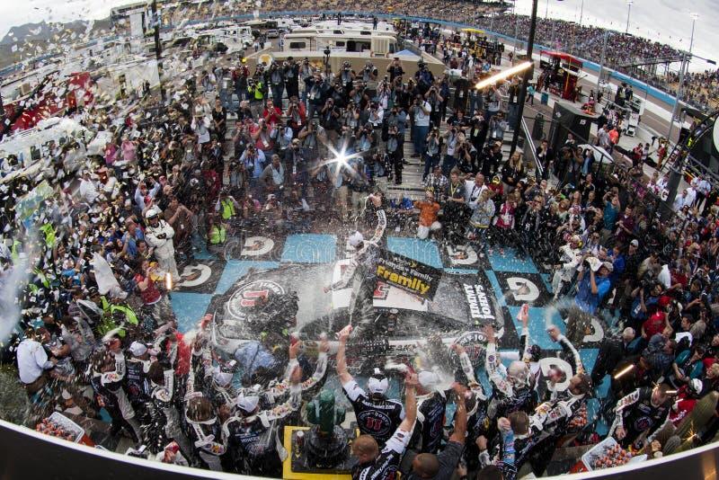NASCAR: 2 de março o lucro em CNBC 500 foto de stock royalty free