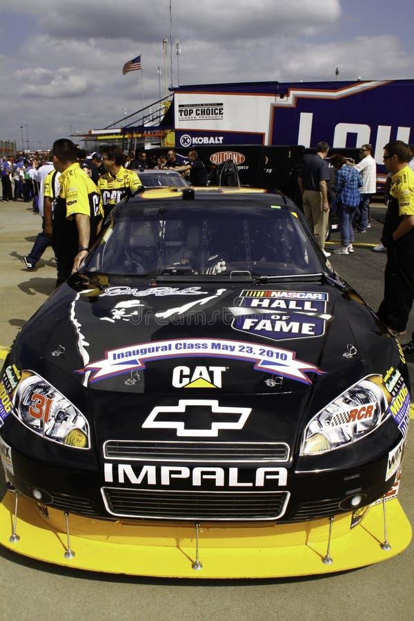 NASCAR - de Zaal van Burton van de Auto van de Bekendheid royalty-vrije stock afbeeldingen