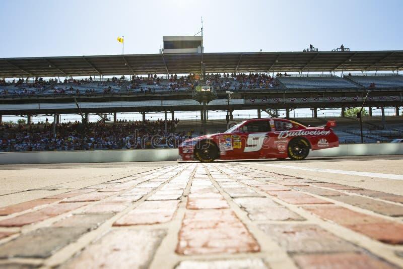 NASCAR: De Zijsprong Allstate 400 van Budweiser royalty-vrije stock afbeelding