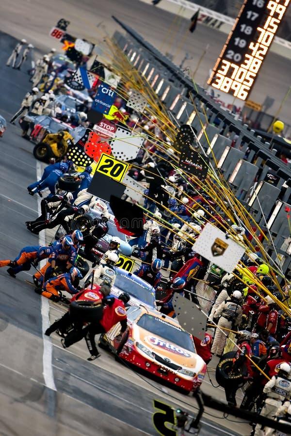 NASCAR : Degré V12 300 du 5 septembre photos libres de droits