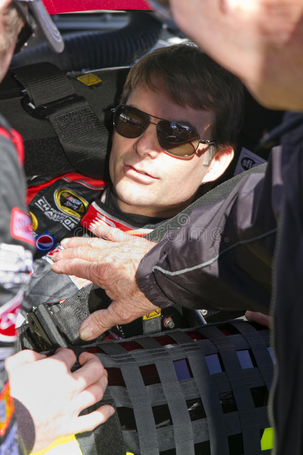 NASCAR driver Jeff Gordon
