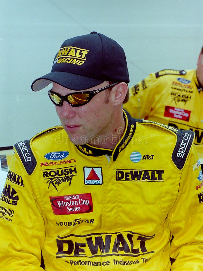 NASCAR Driver Matt Kenseth royalty free stock photos